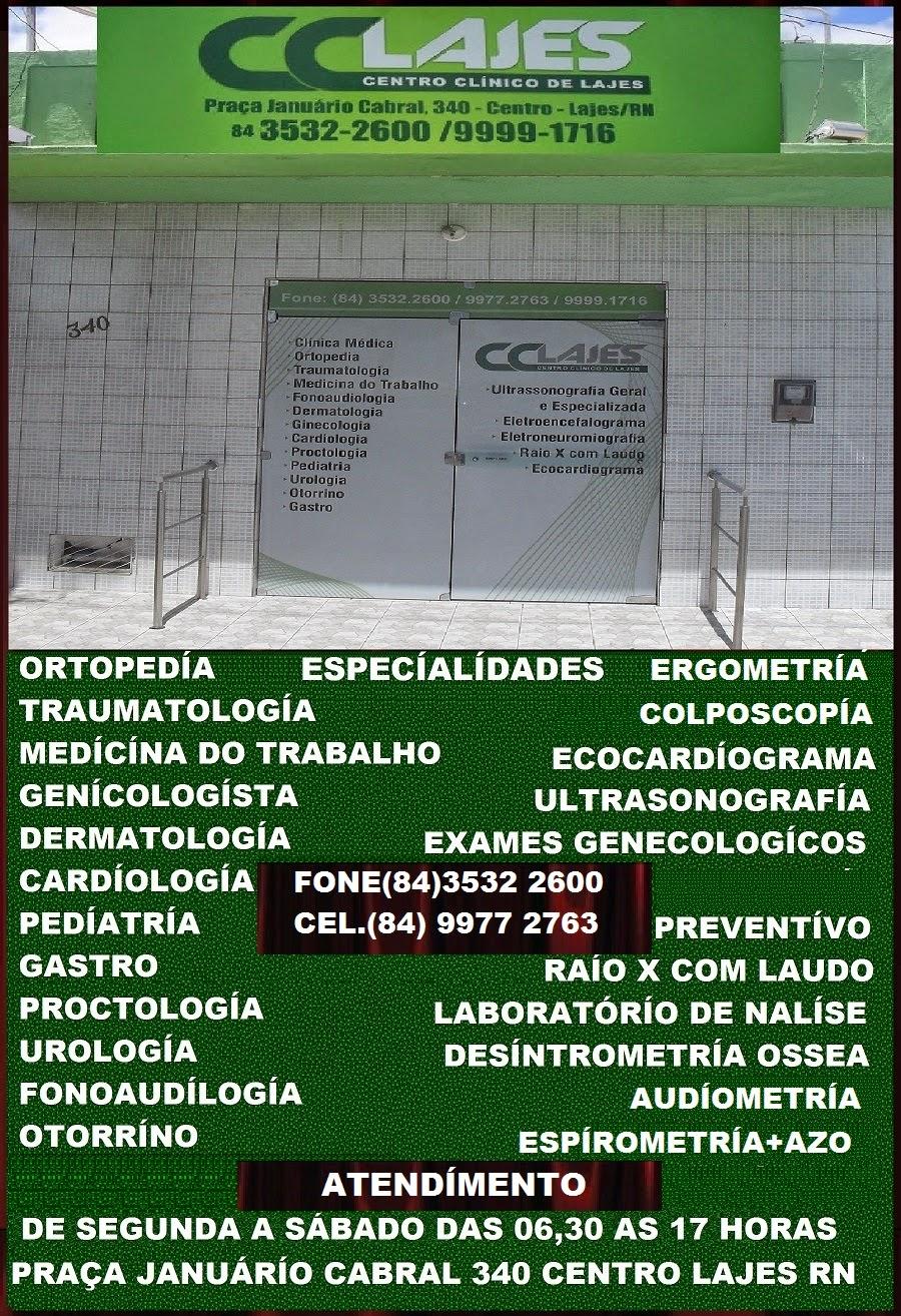 CENTRO CLINICO DE LAJES LAJES RN