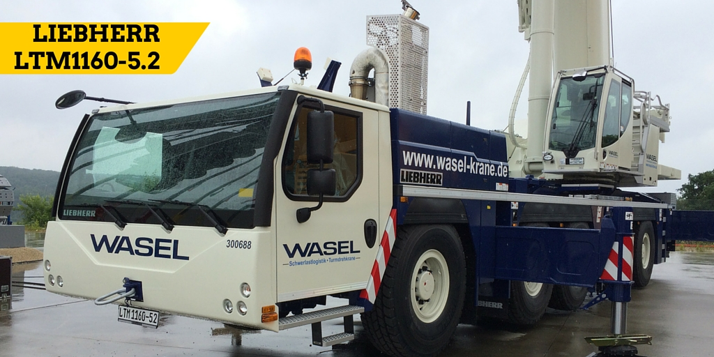 Wasel's LTM1160-5.2 on display at Liebherr Customer Day