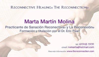 ampliar tarjeta de visita de La Reconexión y Sanación Recontectiva en Madrid