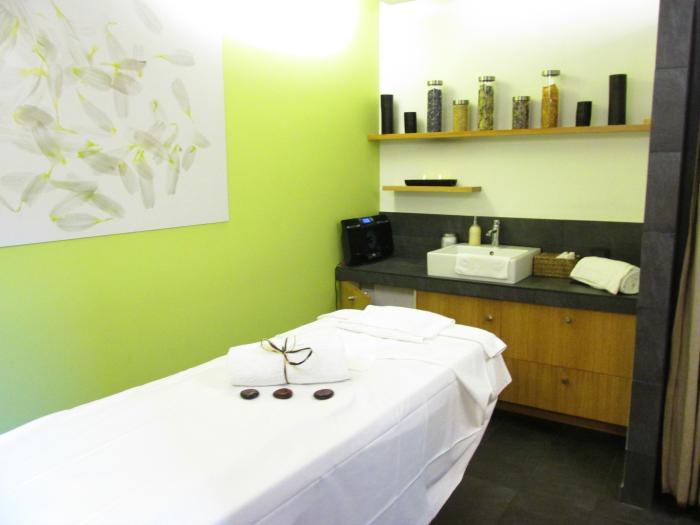 Yves Rocher Blogger Event - La Gree des Landes Hotel - Spa Bereich Massage Räume