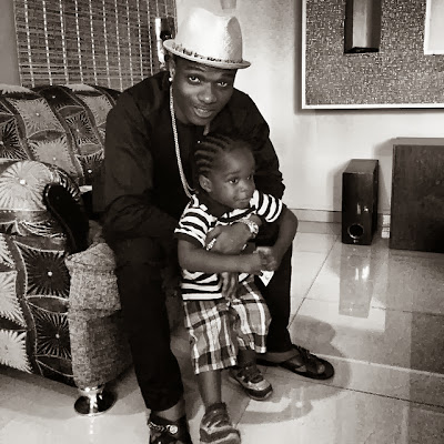 wizkid 2 year old son