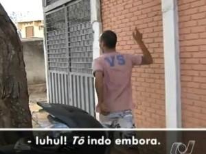 Foragido recapturado é solto por causa da greve em GO e festeja: 'Iuhu'