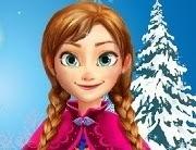 Frozen Anna tratamiento de belleza natural