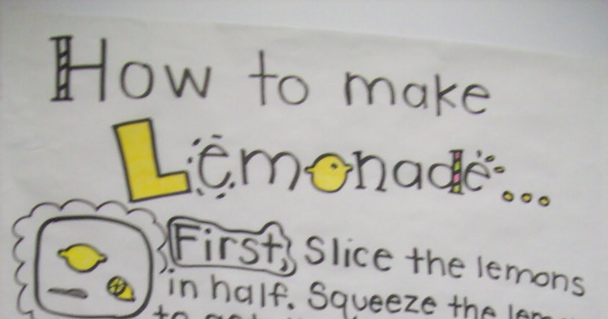 how to make lemonade essay I told her it took a year of nagging for him to make the appointment there's a moment that struck me in beyonce's recently released visual album lemonade, penned by warsan shire when you sign up for medium.
