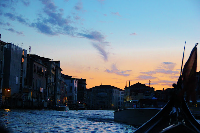 DUSK APPROACHING AT GRAND CANAL