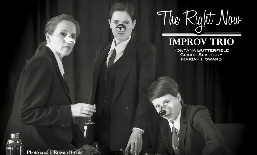 The Right Now Improv Trio