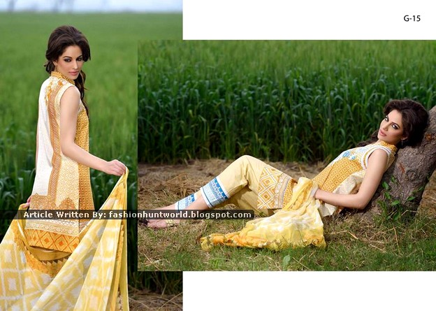 Gohar Lawn Collection 2015-2016 - 06