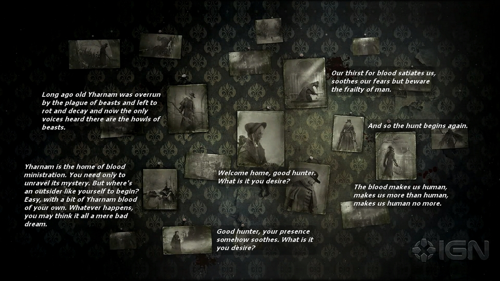 Bloodborne Story Trailer Dialogues