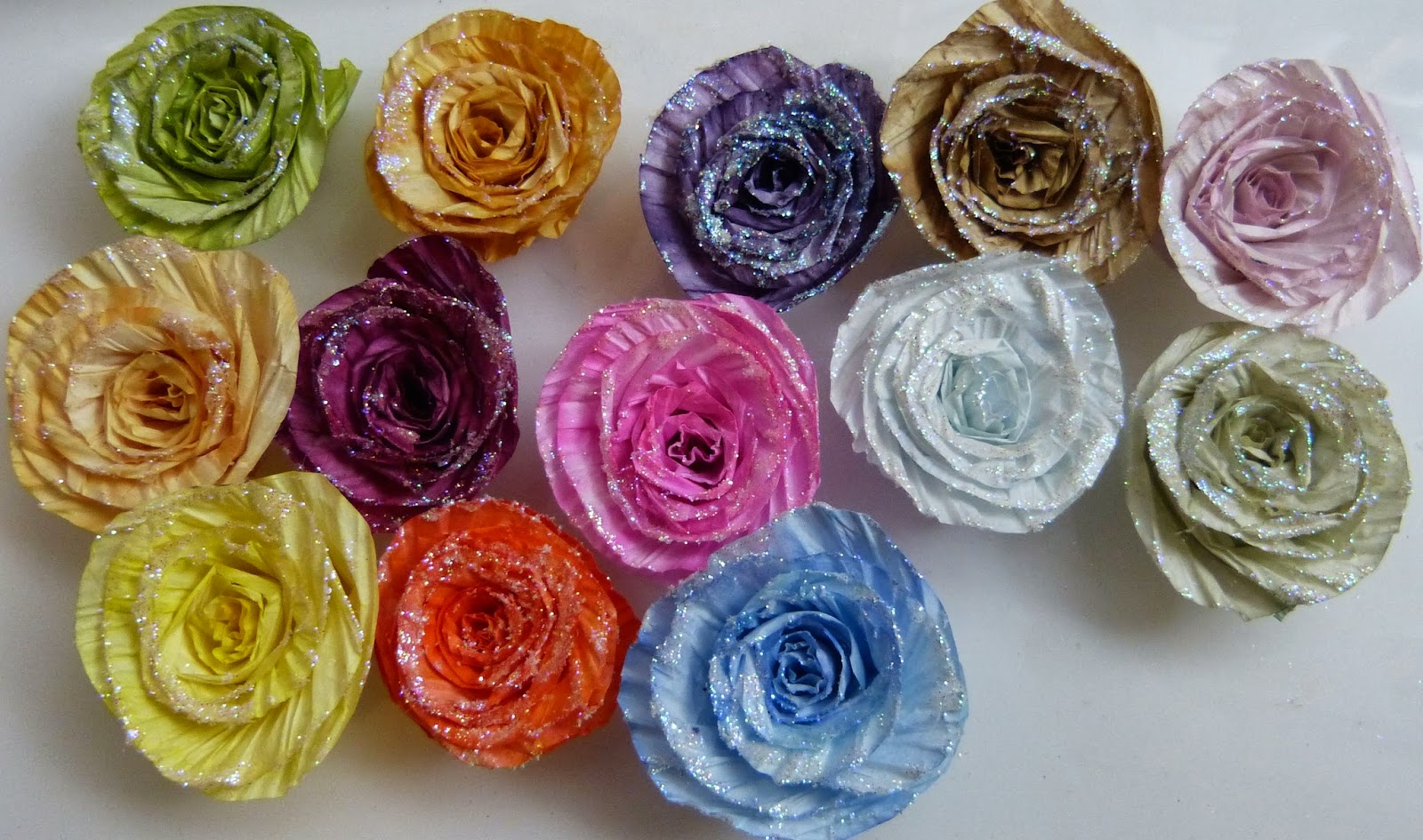 Sacrafters Twisted Paper Cord Making Into Flowers