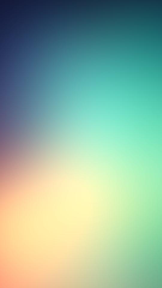 Green Yellow Blue Soft Haze  Galaxy Note HD Wallpaper