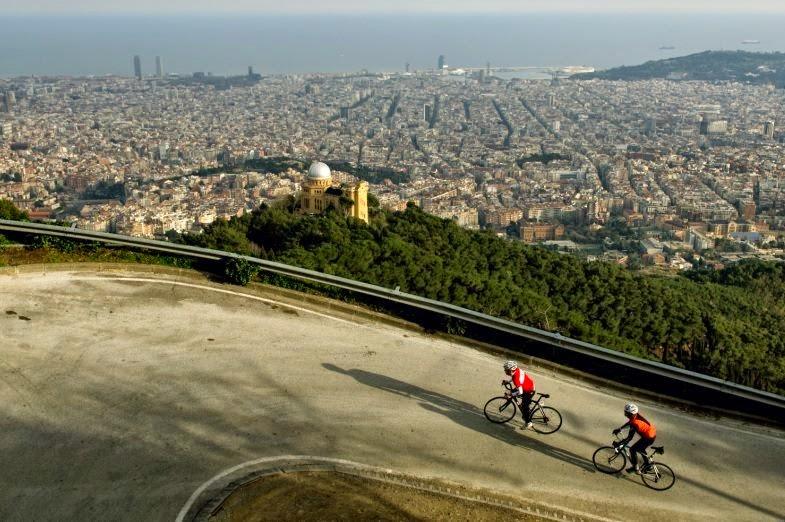 Cycling Barcelona Tibidabo