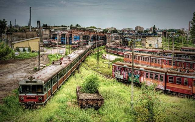02. Czestochowa, Poland's abandoned train depot