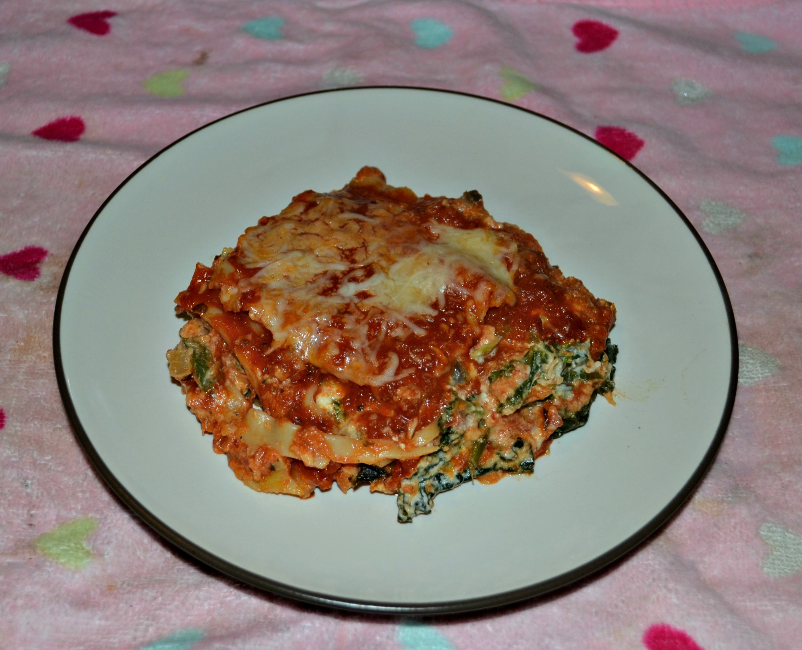 Vegetable Lasagna with Vodka Sauce - Hezzi-D's Books and Cooks