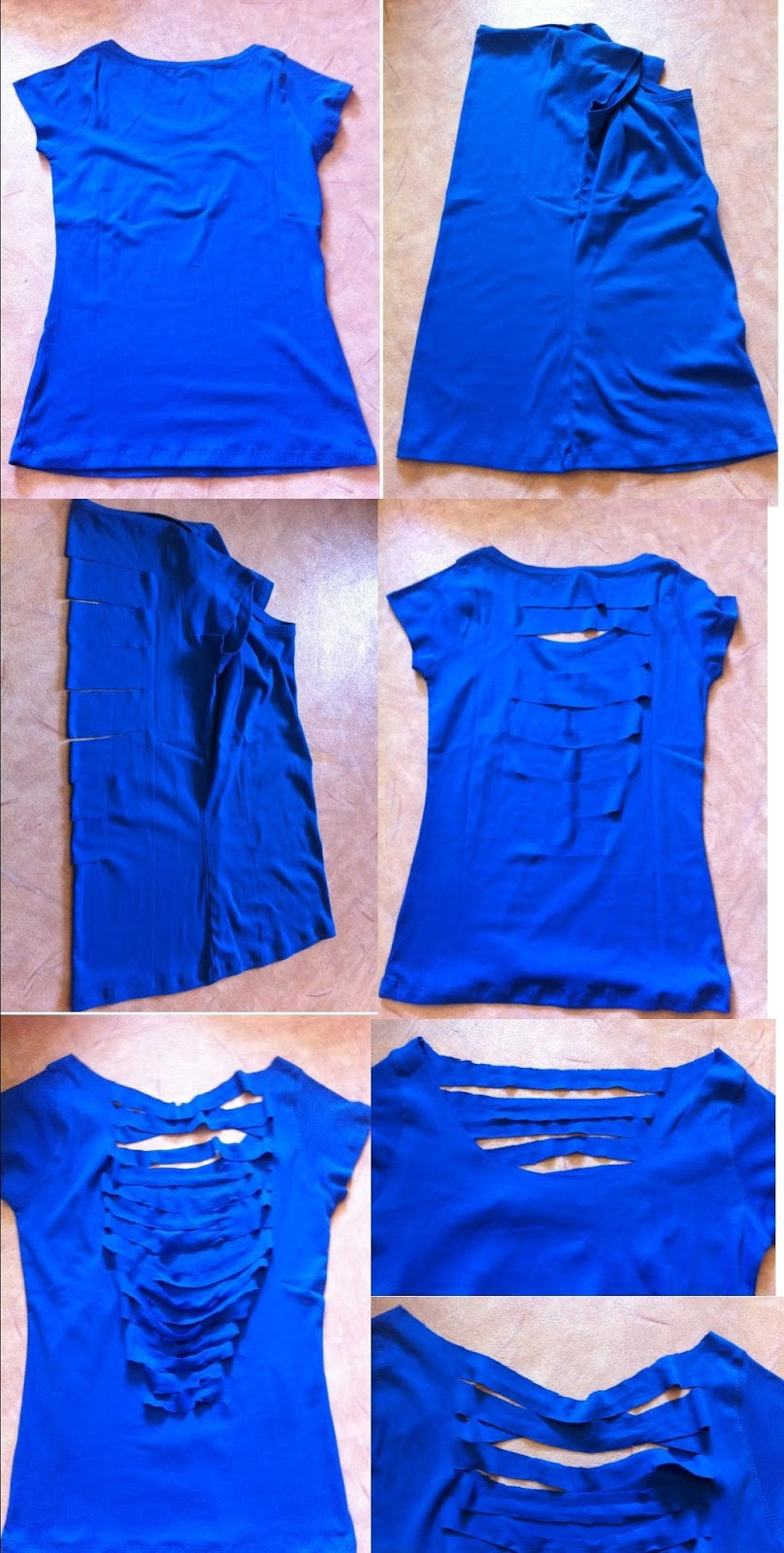 Top The Beauty Press: DIY : Customiser un simple t-shirt BO14