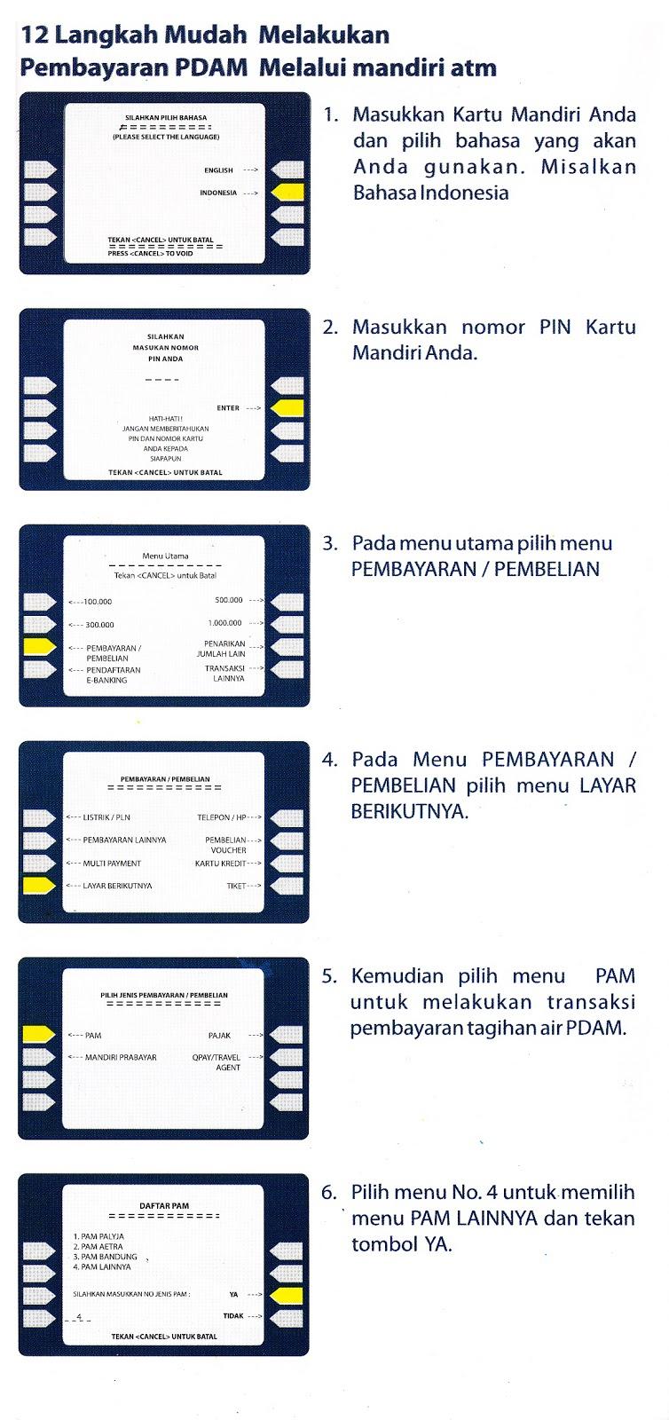 Cara_Bayar_Tagihan_PDAM_Kota_Surabaya_via_ATM_Bank_Mandiri