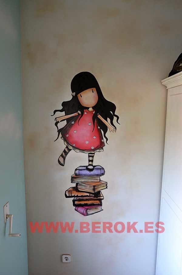 graffitis para cuarto de niña