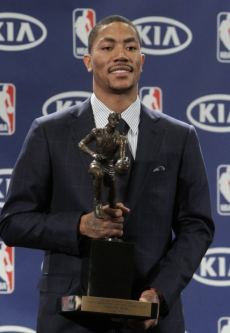 chicago bulls derrick rose mvp. DERRICK ROSE Is 2010-2011 NBA