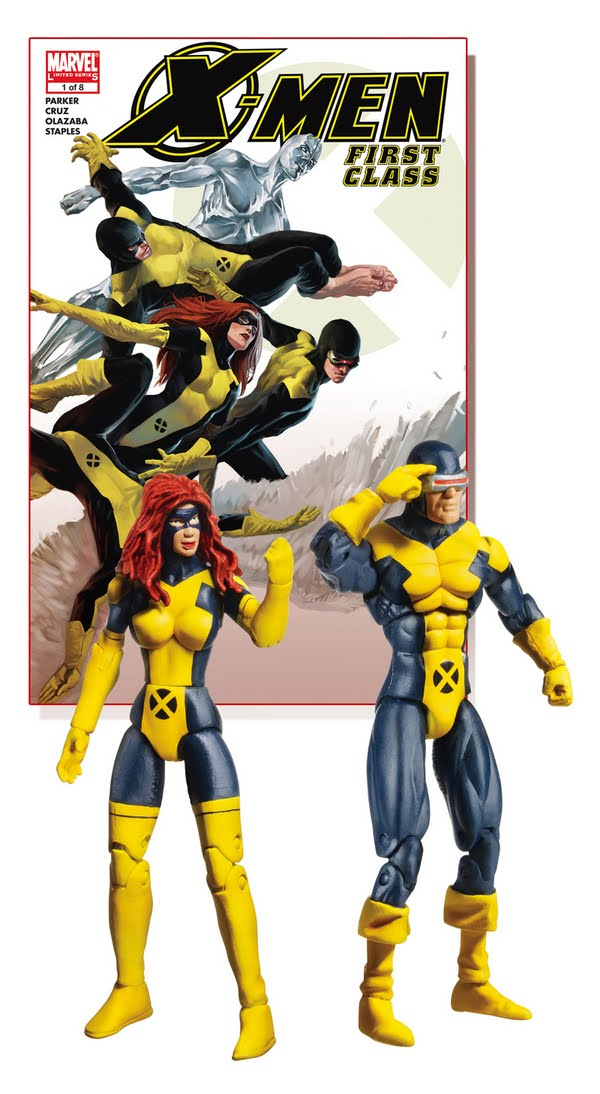 Men  First Class Comic Cyclops y Jean GreyX Men Cyclops First Class