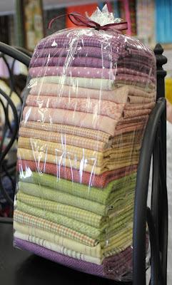 Split Nine Patch quilt kit