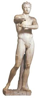 Escultura Griega - Apoxiómeno de Lisipo, Escultura Griega,