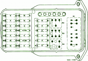 Fuse Box Mercedes Benz 1988 E190 Diagram