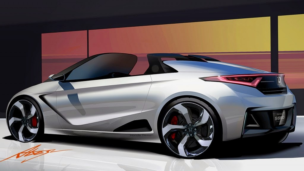 Honda EV STER Small Sport Car HD Wallpaper