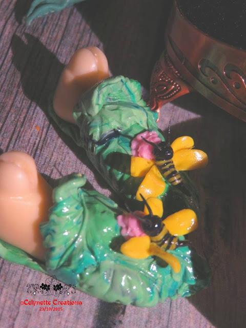 Créas-Fimo -  1 bête des chaussures feuilles (p9) + 1 bûche - Page 3 Diapositive2