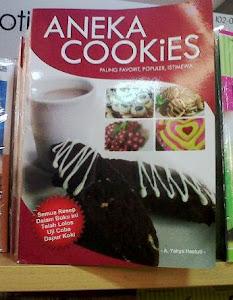 Buku Resep Cookies yang kutulis
