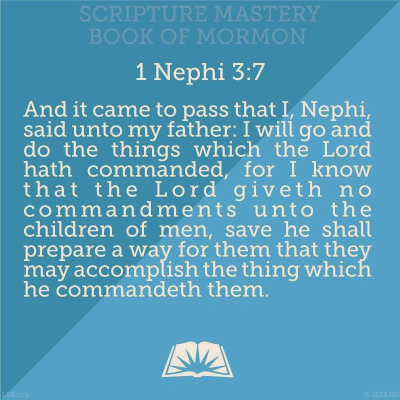 One of my favorite scriptures