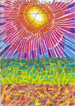 Luz sobre el prado