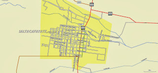 cafayate city map