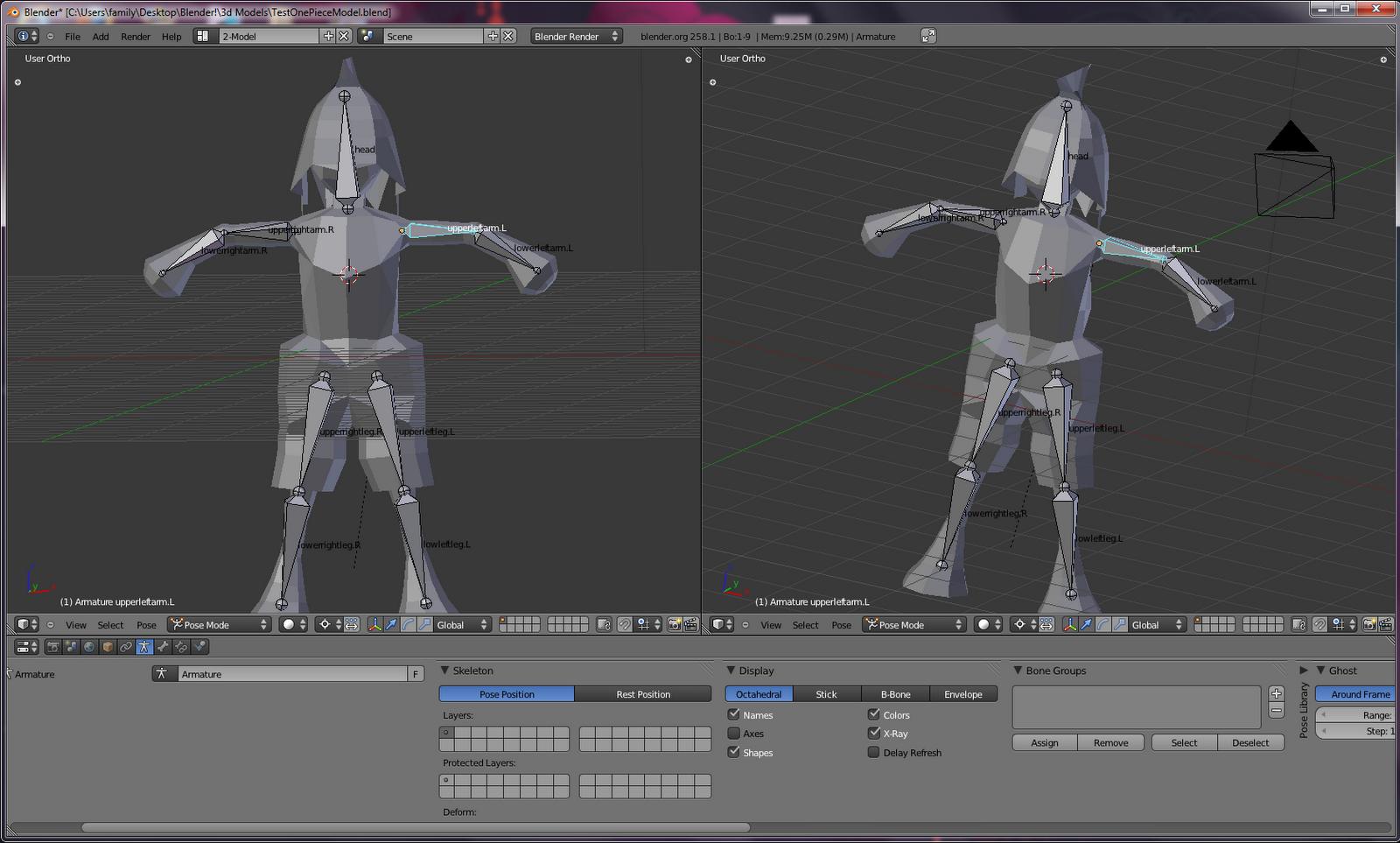 2d Character Modeling Blender : Samer khatib s dev snowconesolid early d modeling