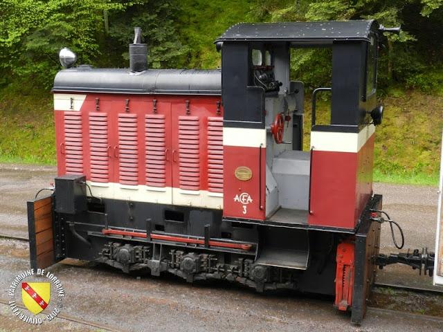 ABRESCHVILLER (57) - Le train touristique
