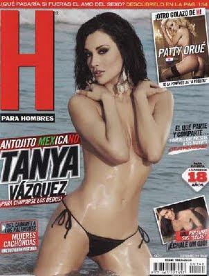 Tania Vazquez Revista H Para Hombres Septiembre 2011