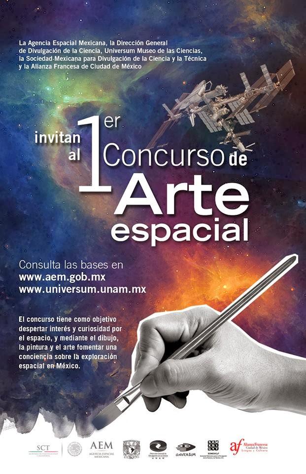 Convocatoria al 1er Concurso de Arte Espacial