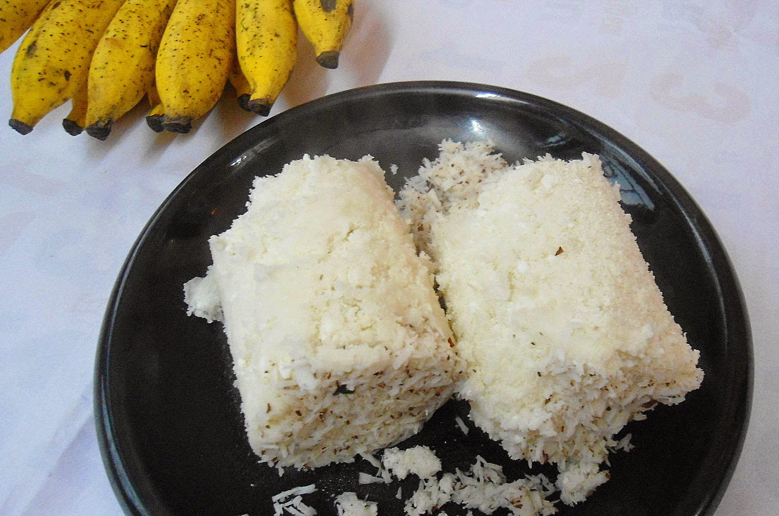 rice flour puttu