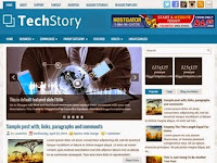 TechStory - Premium Blogger Templates Free Download