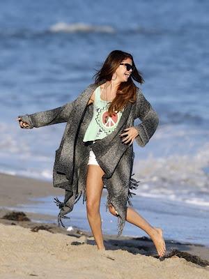 beach cardigan