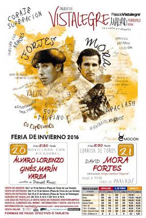 VISTALEGRE (MADRID) DIA 20 Y 21 DE FEBRERO. A LOS TOROS VAMOS TODOS.