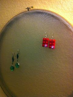 free earring jewelry hanger display tutorial
