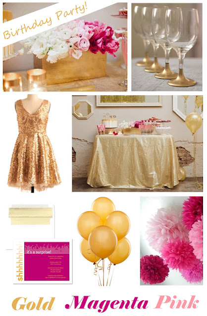 JPM Design: Birthday Party Inspiration Board!