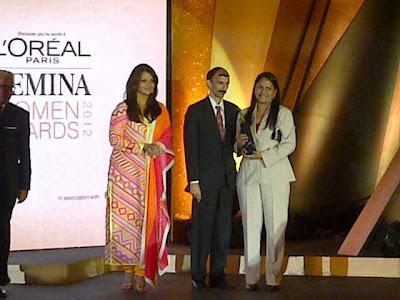 aishwarya rai at the loreal paris femina awards hot images