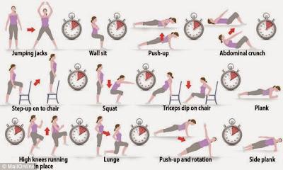 Lemak dah berlipat baru nak exercise