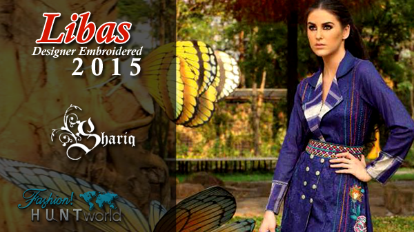 Libas Designer Embroidered 2015 By Shariq Textile