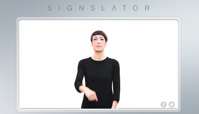 Traductor lengua de signos
