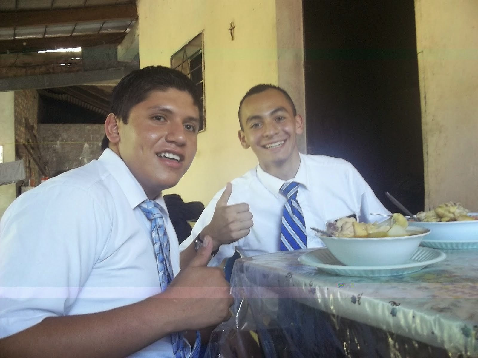Elder Haynie and Elder Vasquez,