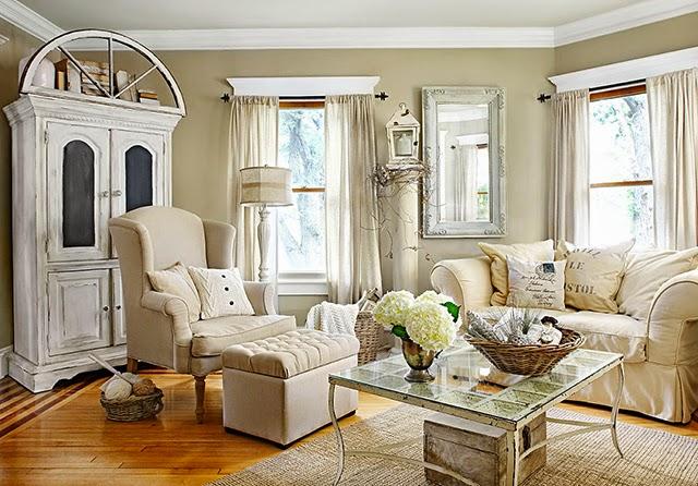 Inspiraci n deco una casa de estilo rom ntico franc s for Cosas de casa decoracion online