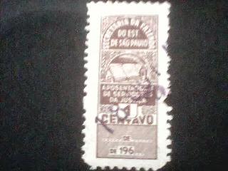 Tesouro de São Paulo-One Cent 1969
