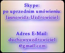 Kontakt Skype E-Mail - WAŻNE - Dołącz zdjęcie z widocznymi oczami