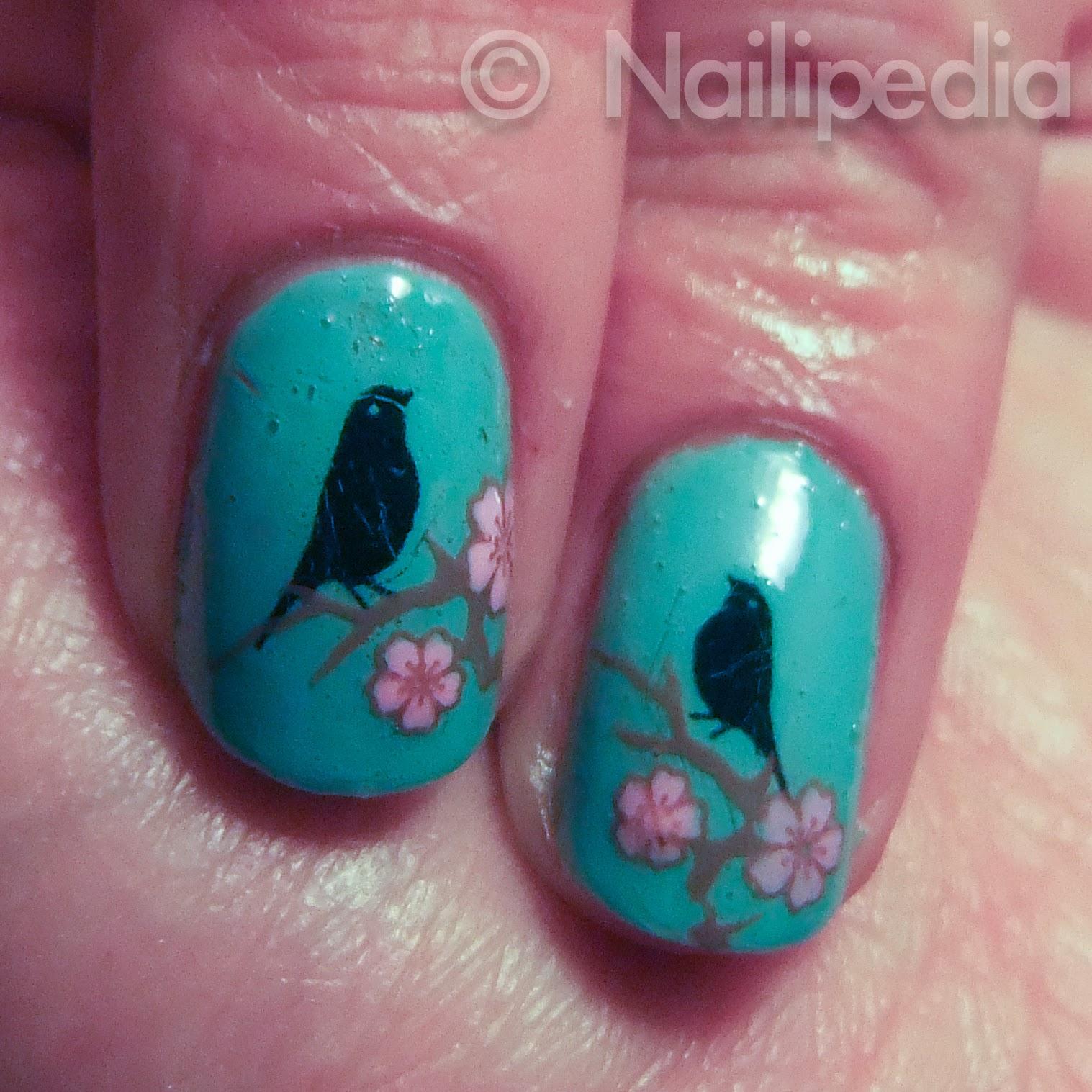 Nailipedia love birds fake tattoos review for How to get fake tattoos off